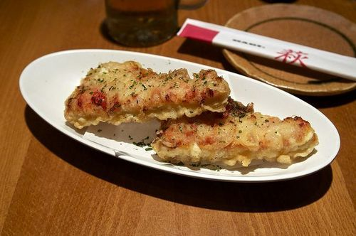 Pizza tempura: sounds all kinds of wrong, but I can't stop thinking about it