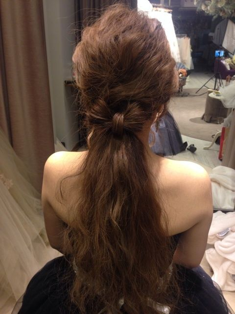 ウエディングヘアスタイルの画像 | My  Style