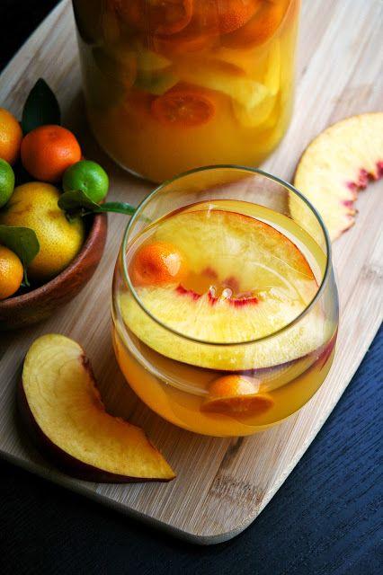 Isla Sangria: Mangoes, calamansi, nectarines, & sweet riesling!