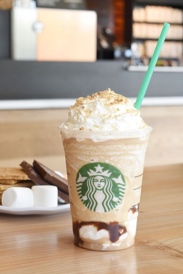 Your favorite summer sips are back. #Starbucks #SmoresFrappuccino #Coffee #Food #Marshmallows #Chocolate #Summer