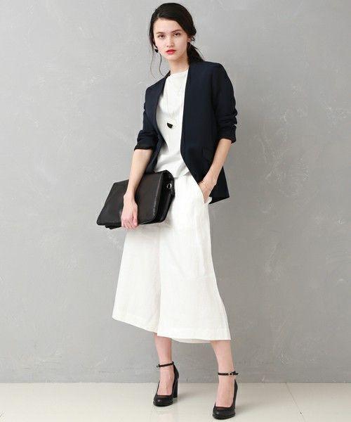 ノーカラージャケット(テーラードジャケット)|UNITED TOKYO(ユナイテッドトウキョウ)のファッション通販 - ZOZOTOWN
