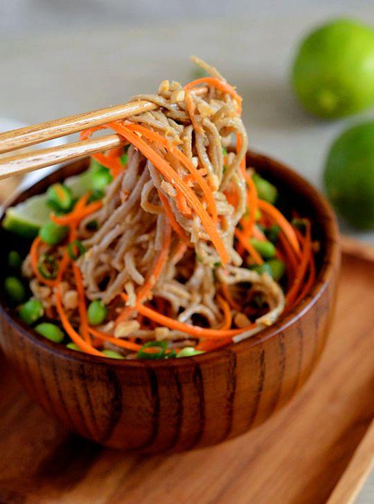 Peanut Lime Soba Noodles [Appetite for China]