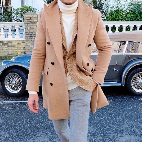 ポロコートで渋くそして、紳士に着こなす。それが男の流儀スタイル!