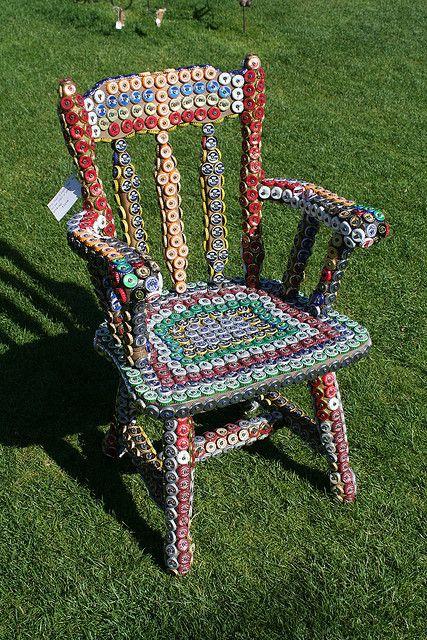 Bottle Cap Chair @ Hilary carvetti
