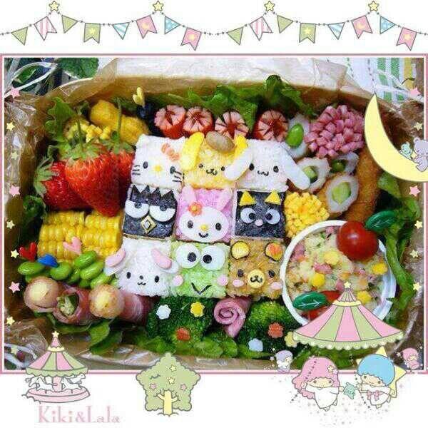 サンリオキャラクターのとってもかわいいキャラ弁で元気を出して、今日も1日頑張ろう♡ かわいすぎて、どれから食べようか迷いますね!   Are you hungry? Check out this cute sanrio lunch box!  Do you want to eat some♡?  Photo taken by cycheoung1203 on WhatIfCamera Join WhatIfCamera now :)   For iOS:   https://itunes.apple.com/app/nakayoshimoshimokamera/id529446620?mt=8   For Android :   https://play.google.com/store/apps/details?id=jp.co.aitia.whatifcamera    Follow me on Twitter :)   https://twitter.com/WhatIfCamera    Follow me on Pinterest :)   https://pinterest.com/whatifacera/pins