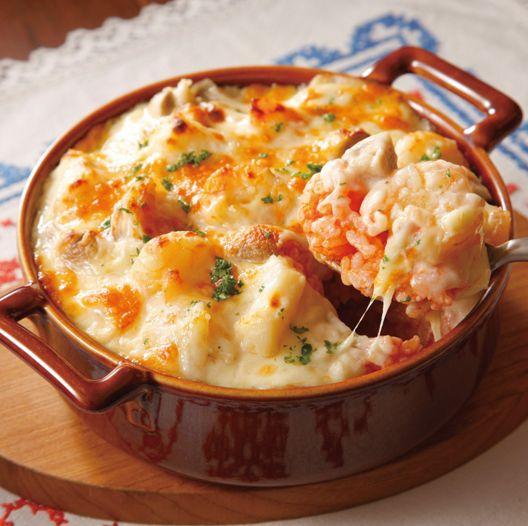 余ったご飯が大活躍♡冬に嬉しいほくほくドリアレシピ