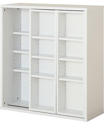 スライド書棚(グラッテン9080 WH)