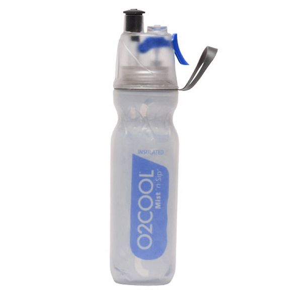 O2COOL Mist 'N Sip Arctic Squeeze 20-oz. Insulated Water Bottle