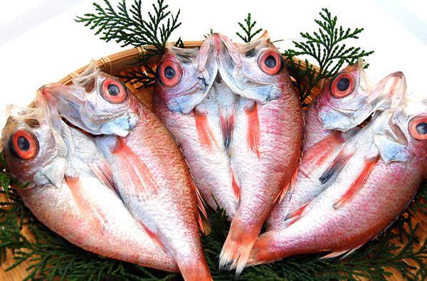 rockfishes(Nodoguro)dried overnight のどぐろの一夜干し