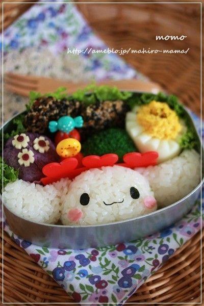 キャラ弁☆シナモンおにぎり♪ by momo** http://cookpad.com/recipe/1621008#share_other