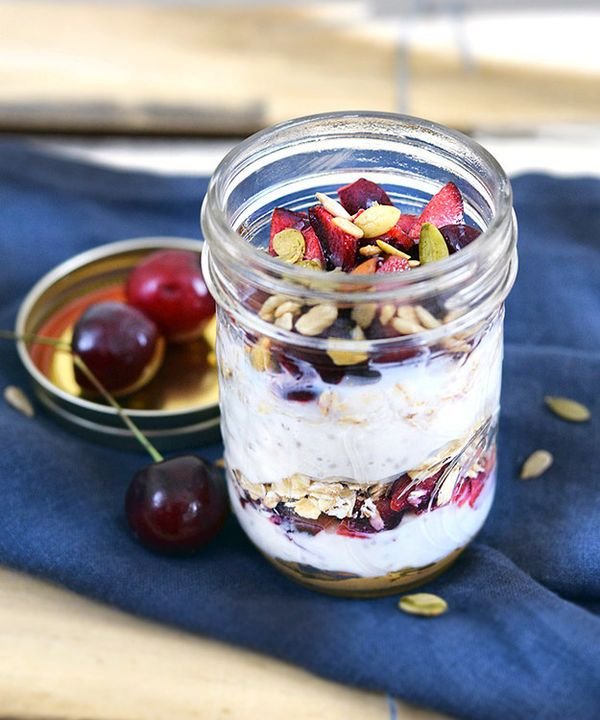 PB and J Yogurt Parfait