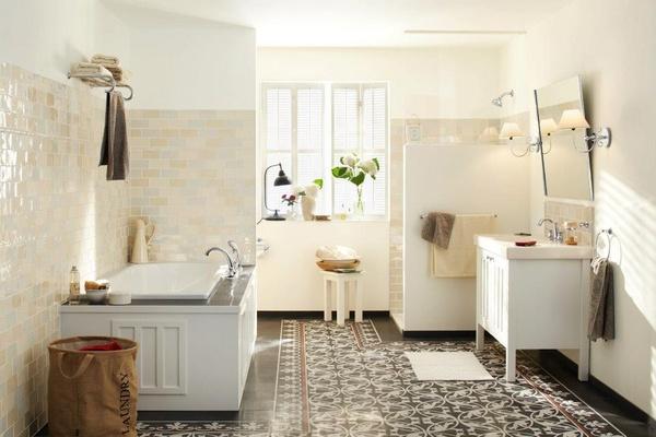 kleine badkamer landelijk – devolonter, Badkamer