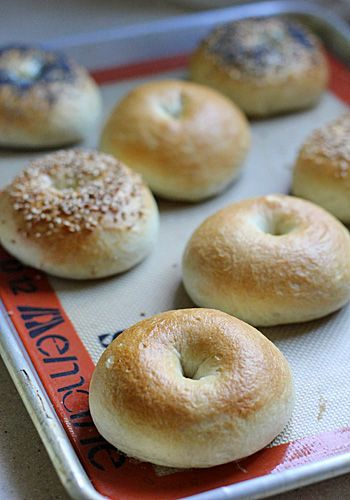 Homemade Bagels, this tutorial makes it looks simple....