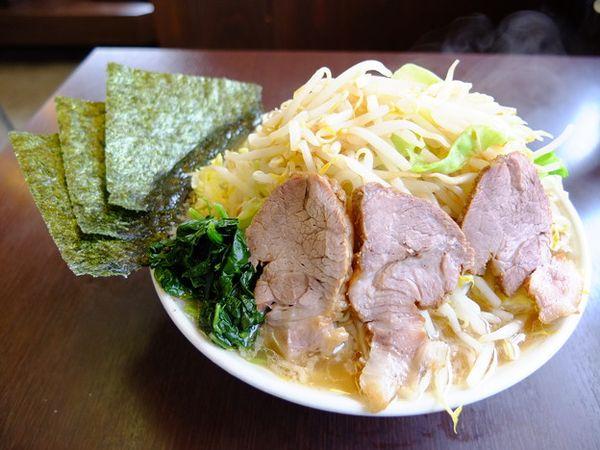 ラーメンショップ 福橋店 ガッツリ野菜ラーメン並盛 野菜トッピング ¥860