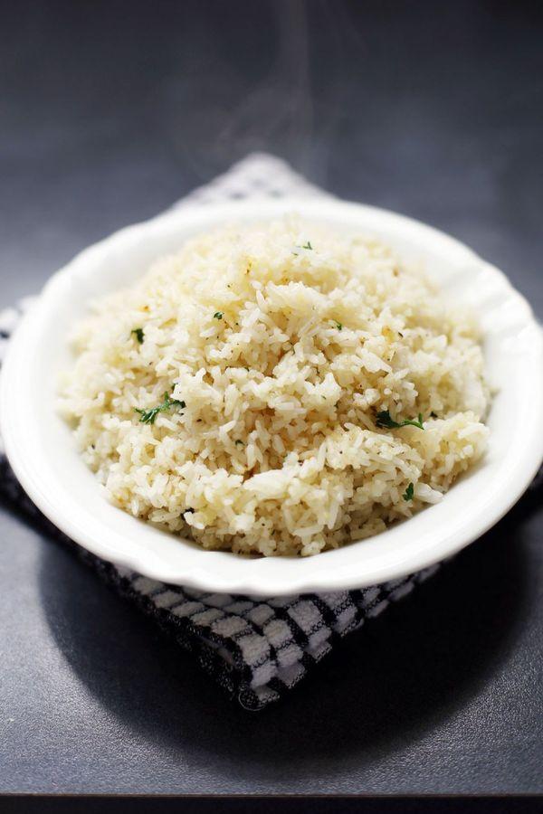 Butter Garlic Herb Rice