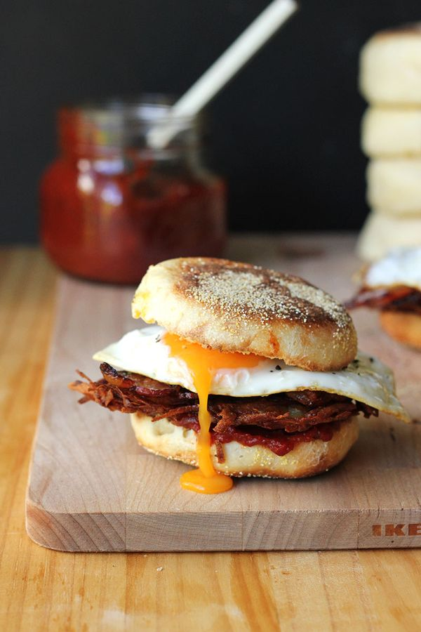 Epic Rosti Breakfast Muffins with Cheeky Chutney / The Sugar Hit