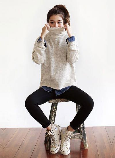 beige knit style - Google 検索