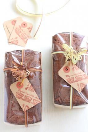 「パウンドケーキのラッピング」お菓子教室SweetRibbonが提案する簡単かわいいお菓子ラッピング | お菓子・パンのレシピや作り方【corecle*コレクル】