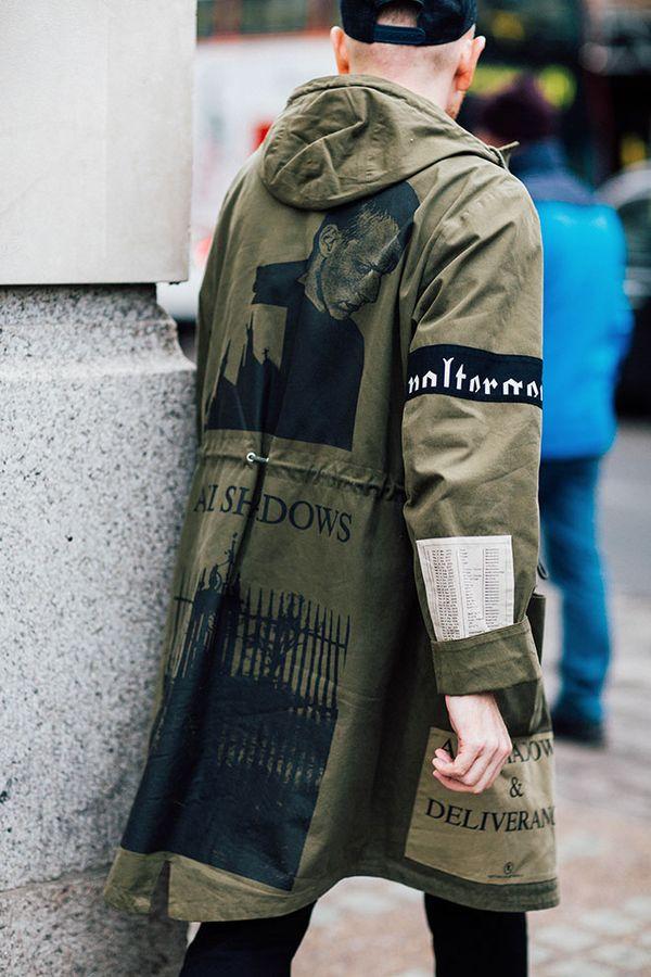 """【男気Max】""""モッズコート""""気になる海外メンズのrealスタイリングは今季も最強"""