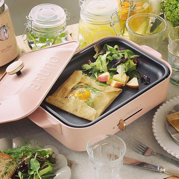 『ブルーノ』のホットプレートはオシャレなのに作れる料理も多彩♡