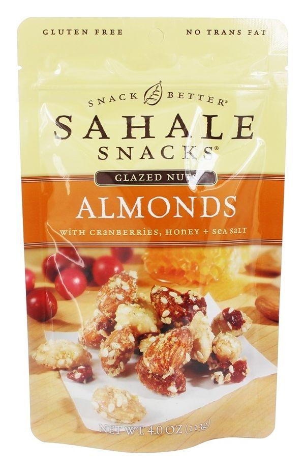 Sahale Snacks - Glazed Nuts Almonds with Cranberries, Honey + Sea Salt - 4 oz.