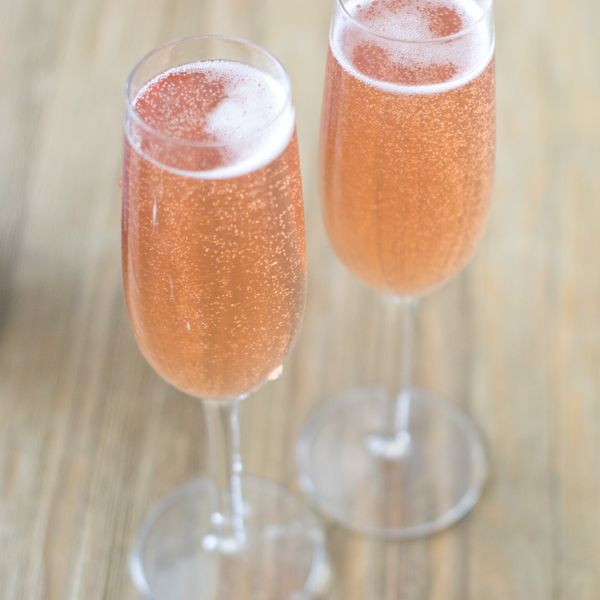 Kir Royale combines Champagne and a black currant liqueur to make a delectable cocktail.We offer some cool variations to try, too.