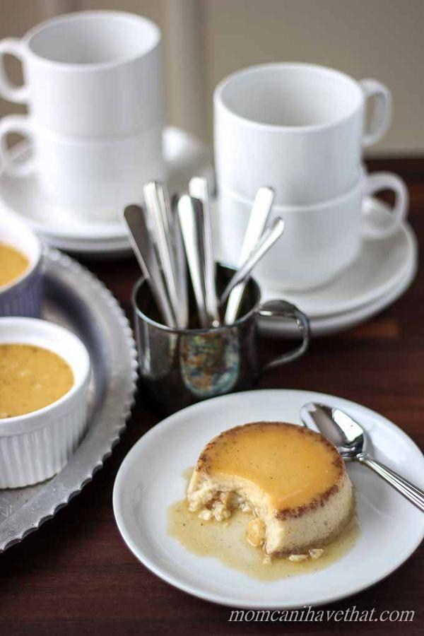 Paleo Honey Chai Coconut Milk Custard - This dreamy luscious dessert is fantastic! | wickedspatula.com