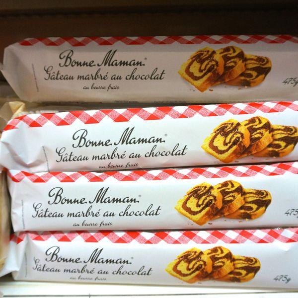 French Supermarket Souvenir Monoprix Bonne Maman Chocolate Cake