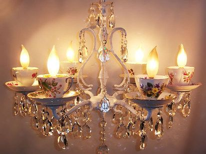 27 Items All Tea Lovers Need In Their Lives…like this insane chandelier!