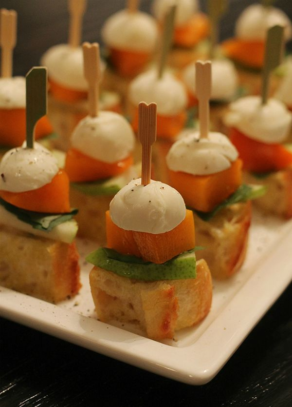 mint love social club: {mini seasonal appetizer}