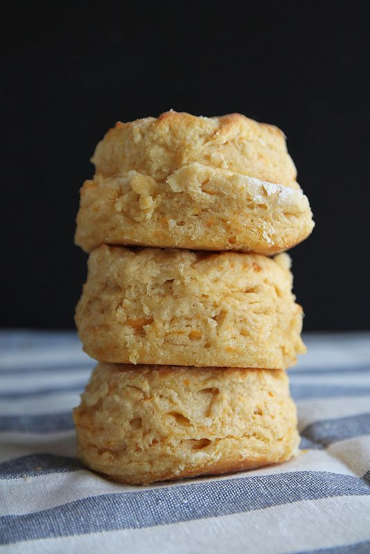 Sweet Potato Biscuits: Mile-high sweet potato biscuits are hearty enough to feed the man in your life (but fluffy and delicious enough to keep everyone else coming back for more as well).