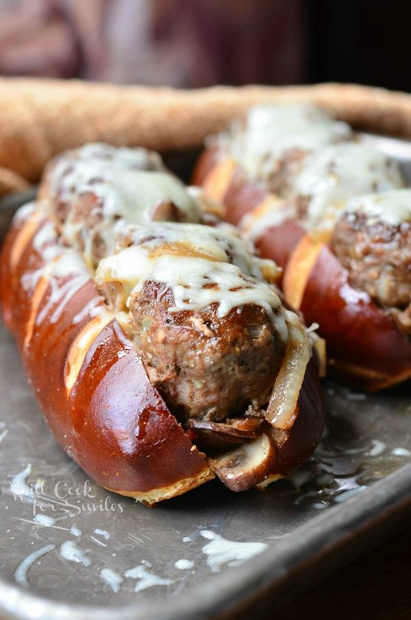 Bacon Buffalo Meatball Sub