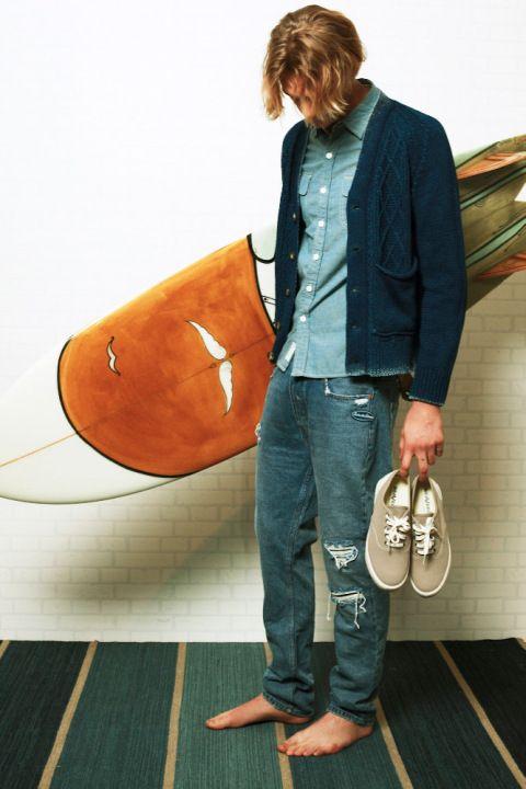 爽やかな男性イメージがキメ手のサーフ系ファッション