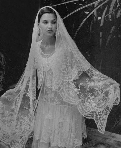 Vintage veil