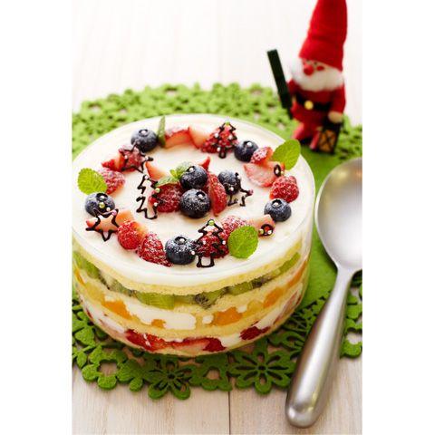 クリスマス☆カラフルスコップケーキ | 森永乳業の乳でひろがる!アイデアレシピ | 森永乳業株式会社
