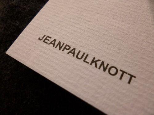 ジャンポールノット×NOTTE MEN|無駄を省いた時代を問わないシンプルブランド