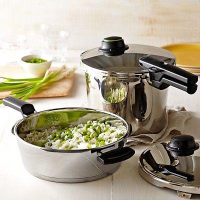 フィスラー圧力鍋の多彩な機能と美しいデザインに思わず欲しくなっちゃう!