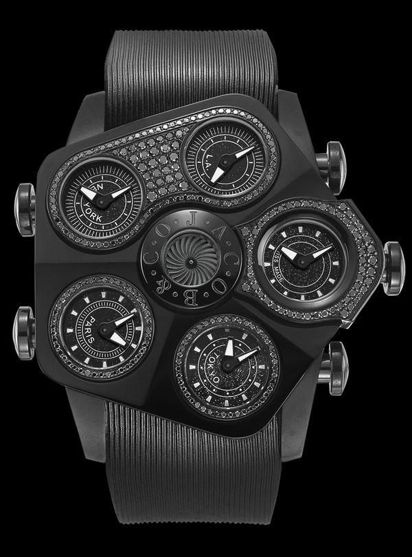 「ジェイコブ」の時計は、革新が輝く最高のジュエル。その独創的なデザインの魅力をご紹介。