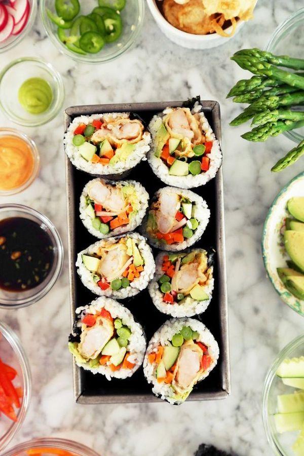 Shrimp Tempura Sushi Burritos | Joy The Baker | Bloglovin'