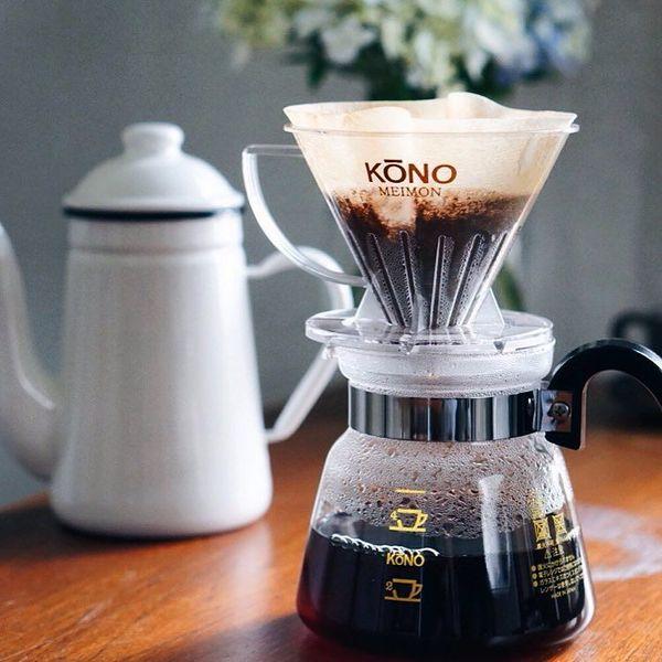 コーノ式(KONO式)ドリッパーで、美味しいコーヒーを。コーヒー好きに愛される魅力は?