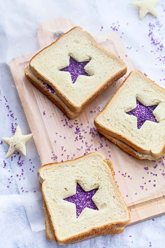 Sugar Plum: #Sugar #Plum ~ Sprinkles Fairy Bread Sandwiches.