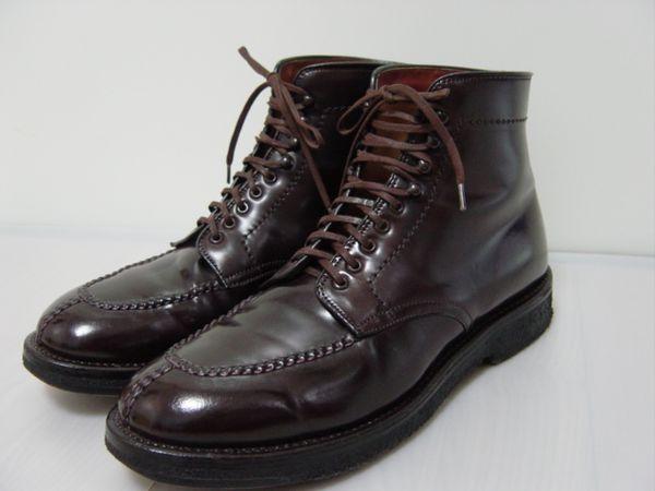 おすすめ人気老舗ブランド⑨:アメリカを代表する靴ブランド「オールデン』のタンカーブーツ