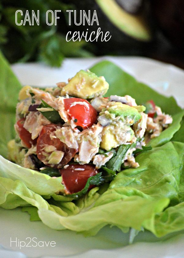 Tuna Ceviche (Whole30 Approved Lunch Recipe) by Hip2Save | Not Your Grandma's Coupon Site