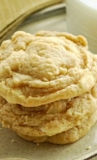 Banana Cream Cookies - so much easier than  banana cream pies, but tastes so similar!  Yummy Southern dessert!