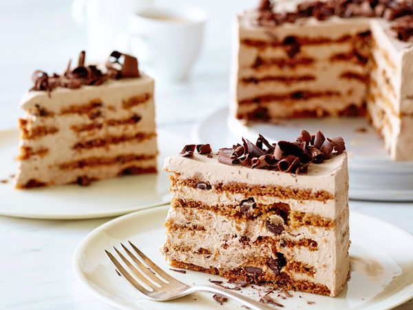Mocha Chocolate Icebox Cake Recipe : Ina Garten : Food Network - FoodNetwork.com