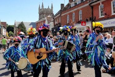 The annual folk fest