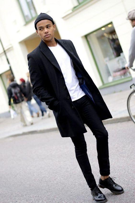 黒スキニーを使った王道コーデはすぐに真似できるスタイル