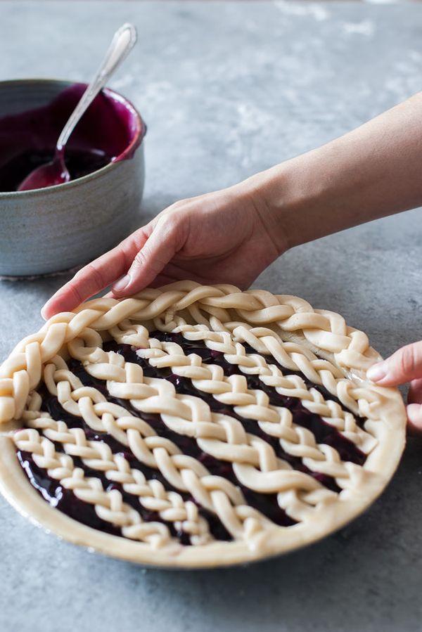 Braided Pie Crust Tutorial