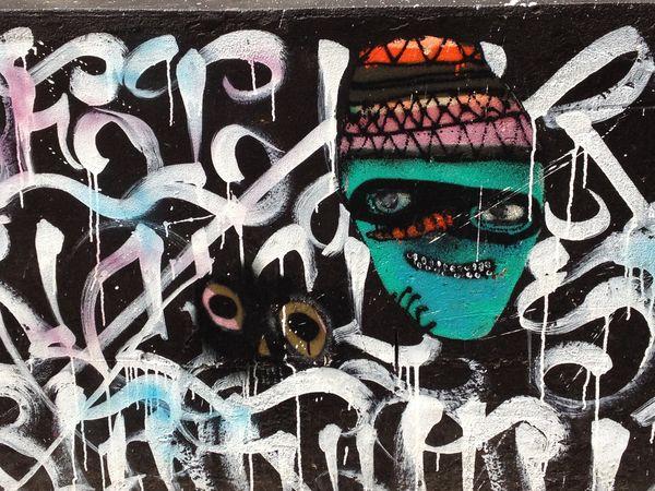 Street art in Melbou