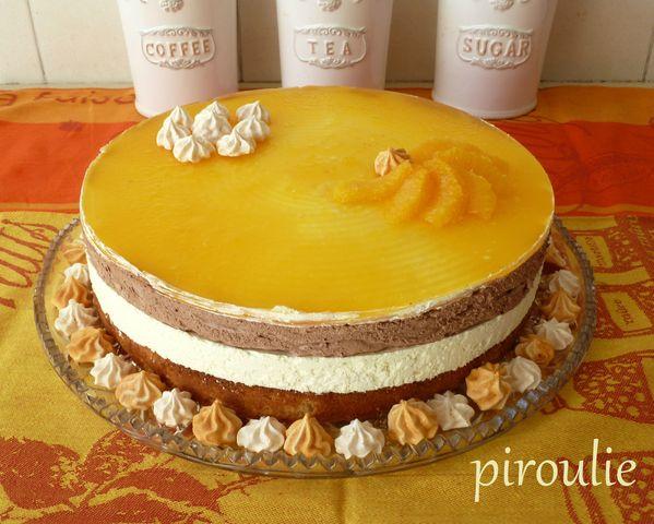 bavarois orange chocolat @piroulie.canalblog.com